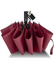 Agedate 折叠伞 自动开闭 结实的12根伞骨 大 男士伞 Teflon加工 超防水 210T高强度玻璃纤维 抗强风 带伞盒