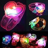 LYWYOUDDKH Bracelet Lumineux Enfants Bracelet De Noël Bande Dessinée Mignon Drôle Jouets Night Light Bande De Poignet
