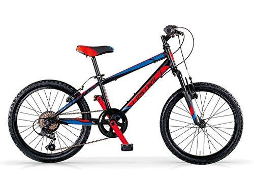 MBM 634U/18 District, Fat Bike da Montagna Uomo, Rosso A20, Taglia Unica