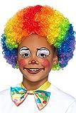 Include parrucca da clown, multicolore, per bambini. Disponibile solo in taglia unica. Smiffys è un fornitore leader di costumi e azienda familiare con un patrimonio di 123 anni in costumi, parrucche, trucchi e accessori.