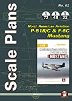 North American Aviation P-51B/C & F-6C Mustang (Scale Plans)