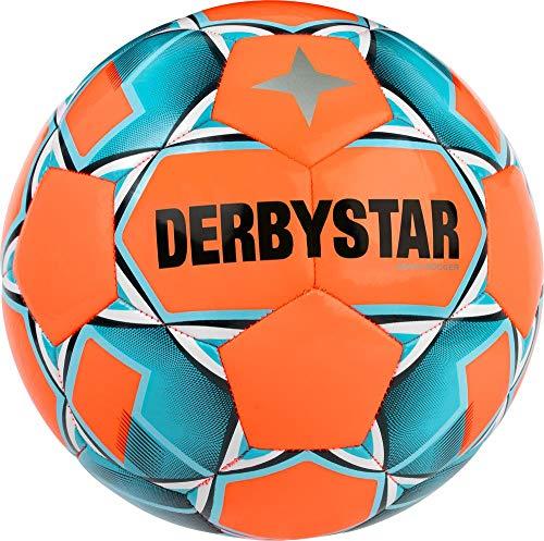 Derbystar Dorośli Beach Soccer, 1069500760 piłka nożna, pomarańczowa, niebieska, 5