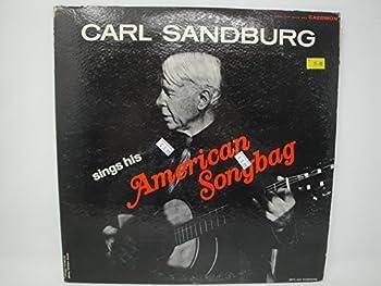 Carl Sandburg Sings His American Songbag 2x Vinyl Lp Caedmon Records TC 2025