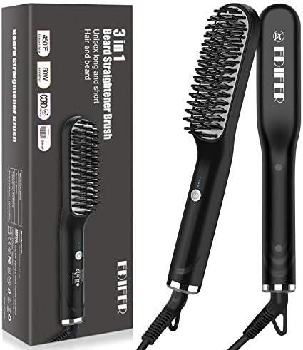 Beard Straightener 3 in 1 Beard Straightener for Men Anti Scald Hair Style Beard Straightener product image