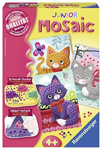 Ravensburger 18353 Mosaic Junior Kätzchen, DIY für Kinder ab 4 Jahren