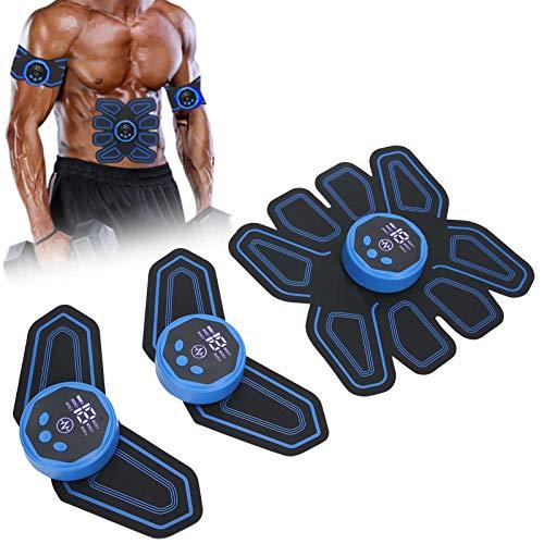 Dispositivo de entrenamiento EMS, entrenador de músculos abdominales EMS, cinturón de fitness...