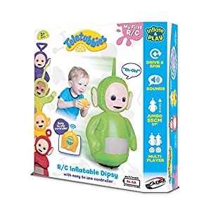 DHX Teletubbies R/C Inflatable Teletubbies Dipsy Remote Controlled Doll - 51HnvPhqzuL - DHX Teletubbies R/C Inflatable Teletubbies Dipsy Remote Controlled Doll