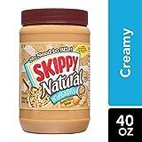 SKIPPY Natural Creamy Peanut Butter Spread, 40 oz