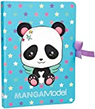Depesche 6583 Notas, Notes to go manga Model, Panda, multicolor , color/modelo surtido
