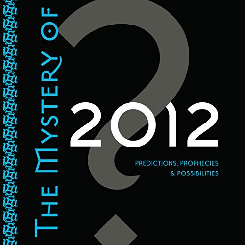 The Mystery of 2012 audiobook cover art