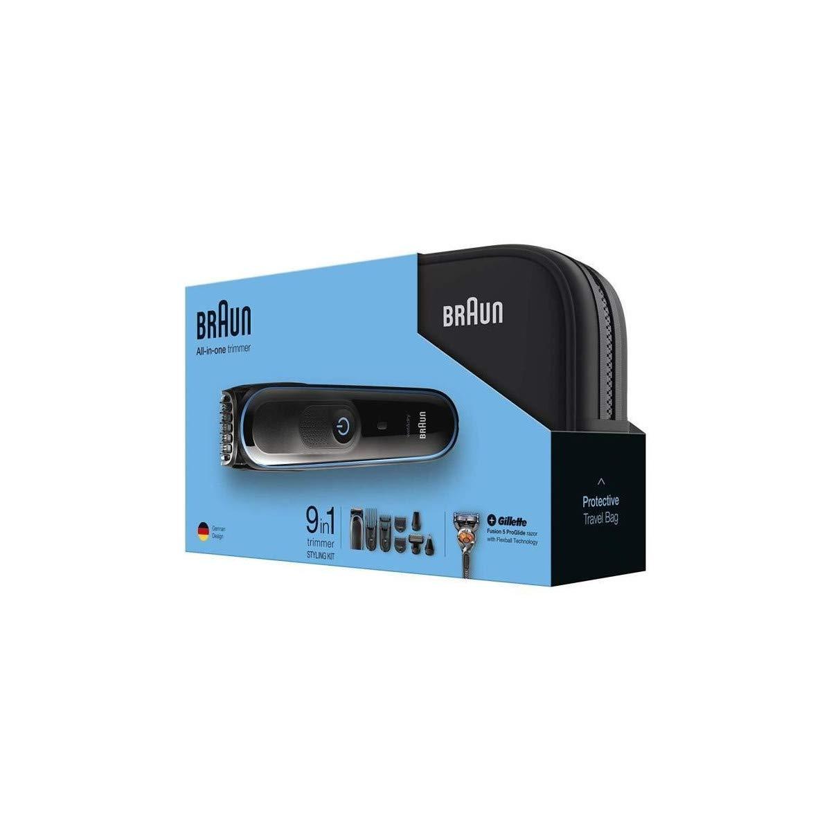 Braun MGK 3980 + Kulturtasche + Gillette Rasierer: Amazon.es ...