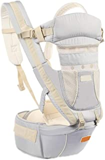 BKUE Infant insert for Baby Carrier Collection Original, Baby Carrier Backpack 5 in 1 Carry Ways Carrier Sling, Newborn Ba...