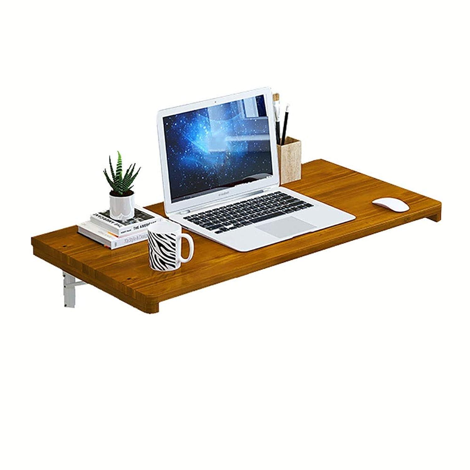 フェンス溶けたママ折りたたみ式ドロップリーフデスク、ワークステーション用の壁掛け式テーブルスペース、ダイニングテーブル、コンピュータデスク (サイズ さいず : 100x30cm)