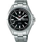 [セイコーウォッチ] 腕時計 メカニカル ファイブスポーツ 自動巻(手巻つき) SARZ005 ブラック
