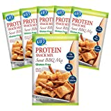 Kay's Naturals - Protein Snack Mix - Sweet BBQ - 6 Bags - High Protein 12g - Gluten Free