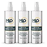 MLG SISTEMA 360 - Hidroalcohol 3 x 500ml con Spray | Ideal para una higiene profunda...