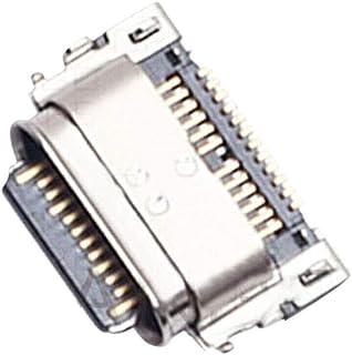 Dougsgadgets USB استبدال منفذ شحن USB XT1980-3 جديد متوافق مع موتورولا موتو Z4
