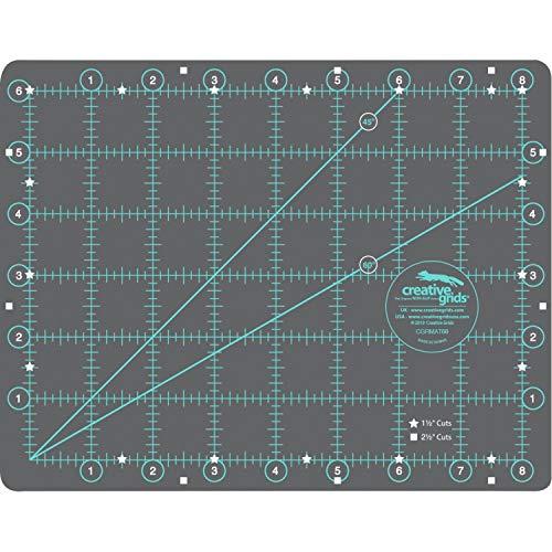 Creative Grids Self- Healing Cutting Mat 6  x 8  CGRMAT68