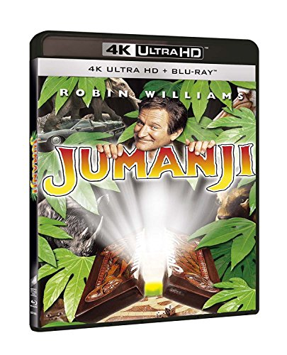Jumanji (Blu-Ray 4K Ultra Hd+Blu-Ray) [Italia] [Blu-ray]