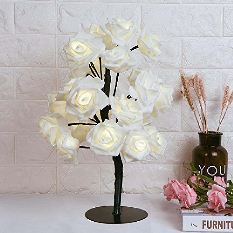 Moderne, einfache Kreative Rosa Lampe, Schlafzimmer Bett dekorative lampe, led-romantisch und warmen Studie lampe Dekoration, Größe  44  14 cm, schwarz, Schalter B078H9BRY7 | Verschiedene Waren