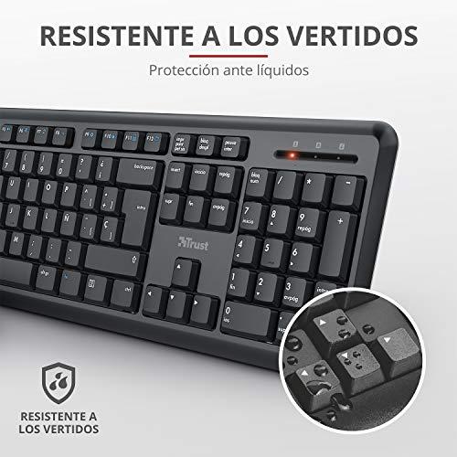 Trust Packs de teclado y ratón