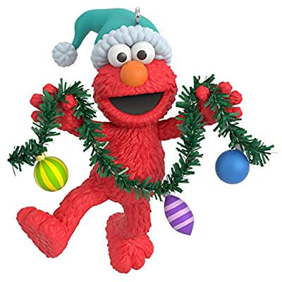Hallmark Keepsake Christmas Ornament 2020, Sesame Street Deck the Halls With Elmo