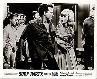 SURF Party Original Lobby Card Bobby Vinton Patricia Morrow 1964