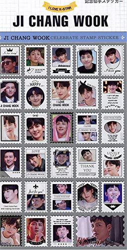 チ・チャンウク (JI CHANG WOOK) 記念 切手 シール ステッカー (Celebrate Stamp Sticker) [29ピース] グッズ