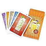 Chroma Products Cocktail Rezepte auf Karten: 30 Cocktailrezepte und Erklärungen in Faltschachtel, Rezepte auf deutsch, Kartenspiel oder Quartett als Geschenk