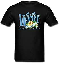 SAMMA Men's WANEE MUSIC FESTIVAL 2016 Design Cotton T Shirt