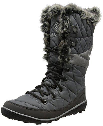 Columbia Women's Heavenly Omni-Heat Snow Boot, Quarry, Dove, 9