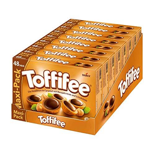 Toffifee (8 x 400g) / Haselnuss in Karamell, Nougatcreme und Schokolade