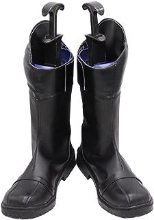 Cat Noir Adrien Agreste Black Halloween Cosplay Shoes Boots X002