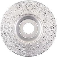 Silverline 302067 - Disco de desbaste de carburo de tungsteno (115 x 22,2 mm)