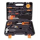LGQ Herramienta de reparación de automóviles, Kit de Hardware de precisión 19 en 1, Juego de Herramientas de Mano para el hogar, Destornillador, Llave, Martillo, alicates,