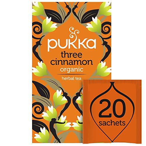 Pukka Three Cinnamon - Tisana 20 filtri