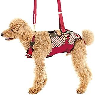With(ウィズ) 歩行補助ハーネス LaLaWalk 小型犬・ダックス用 スクールガール M サイズ