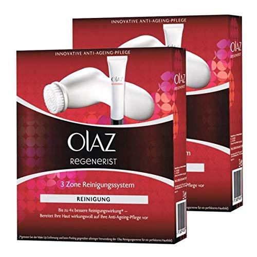 Olaz Regenerist 3 Zone Reinigungssystem-Innovative Anti-Ageing-Pflege (2er Pack)