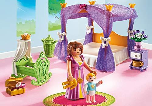 Playmobil 6851 Princesa - Juego de construcción con cama de baldaquino