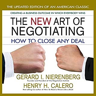 The New Art of Negotiating audiobook cover art