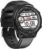 Smart Watch Armband wasserdicht Voll Touchscreen Silikon Gürtel Herzfrequenz Fitness Blutdruck Überwachung mehrere Sportmodus Sport Fitness Tracker-Grau
