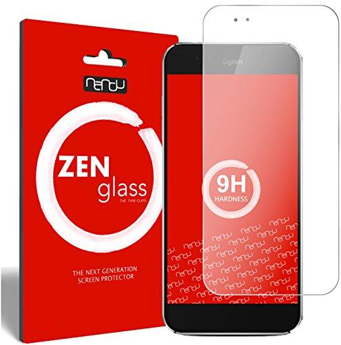 ZenGlass Flexible Glas-Folie kompatibel mit Gigaset ME Pro Panzerfolie I Bildschirm-Schutzfolie 9H I (Kleiner Als Das Gewölbte Bildschirm)
