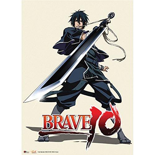 Brave 10 Saizo Wallscroll
