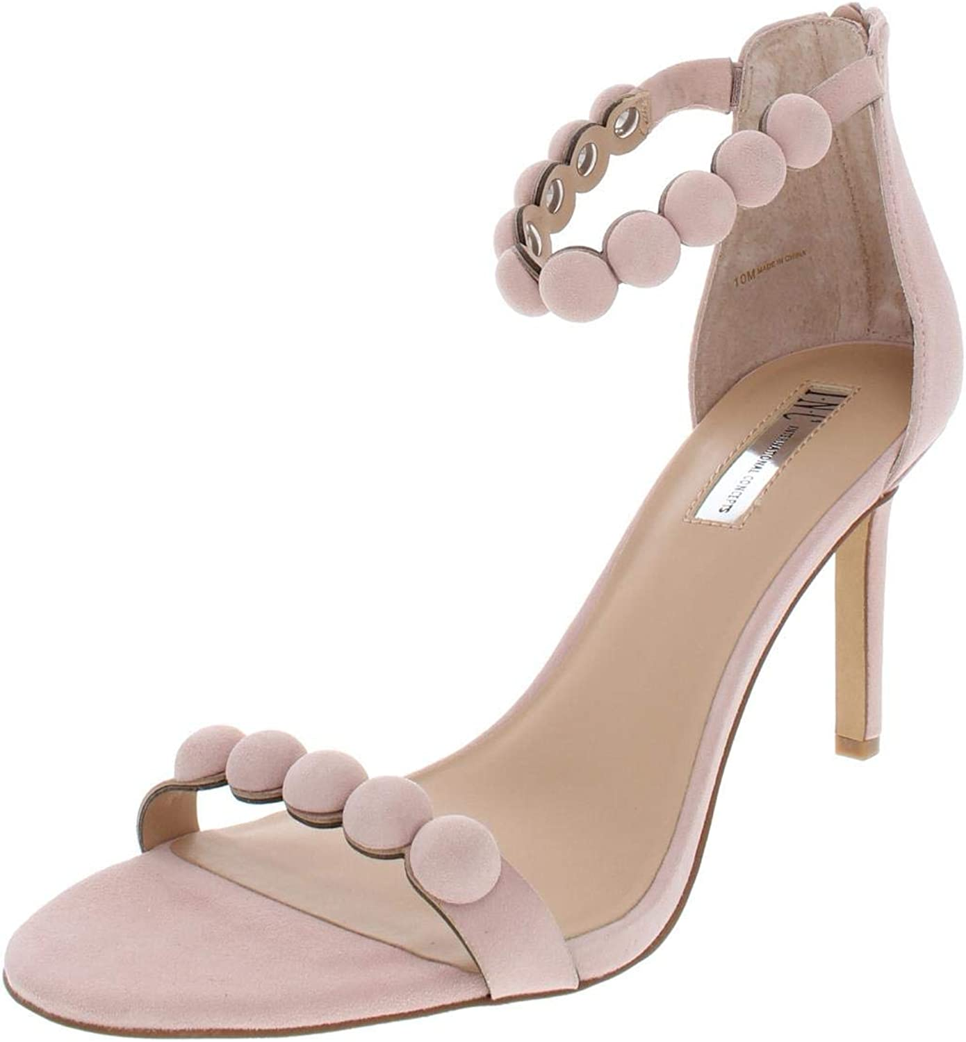 Inc Womens Gabbye Solid Ankle Strap Dress Sandals, Pink Bloom, Size 10.0