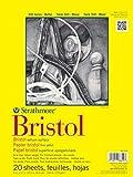 Pro-Art-Bilderpalette Strathmore Bristol Papier vélin Papier Pad 9x 30,5cm, 20Feuilles
