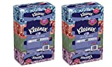 Kleenex Ultra Soft Facial Tissue Regular 8 Boxes, 120 Count Each, 3 ply, White