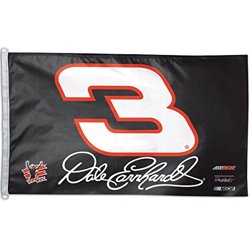 WinCraft NASCAR Dale Earnhardt WCR63171012 2 Sided Flag, 3' x 5'