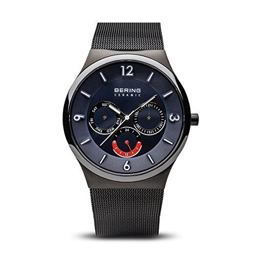 BERING Herren-Armbanduhr Analog Quarz Edelstahl 33440-227