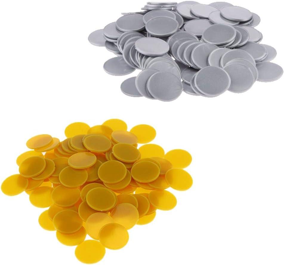 TX GIRL Credence High quality new 200PCS Set Plastic Bingo Chips Casino Poker Chip