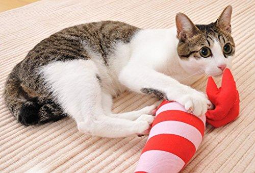 ペティオ(Petio)猫用おもちゃけりぐるみエビ
